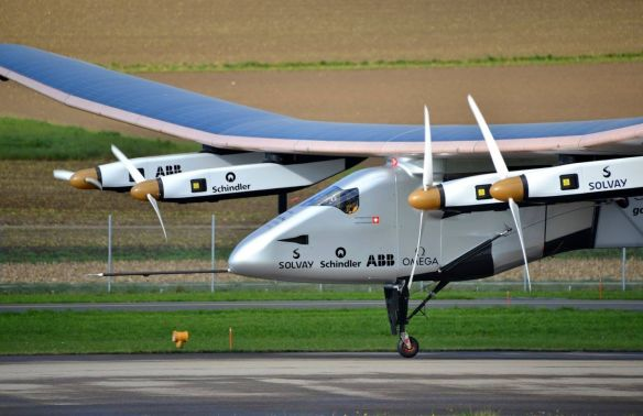 Solar Impulse 2 im November 2014 in Payerne