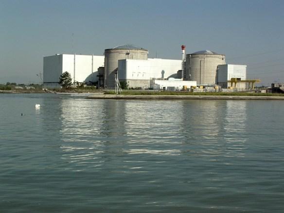 Atomkraftwerk_Fessenheim_AKW_zwei_Atomreaktoren